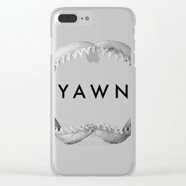 Yawn Clear iPhone Case