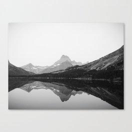 Swiftcurrent Lake, Glacier National Park Canvas Print