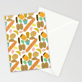 Patisseries de France French Pastries and Breads Stationery Cards
