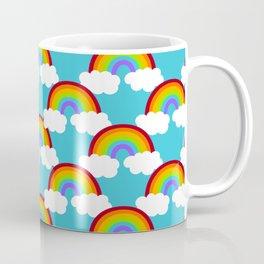 Dreamy Rainbow Pattern Coffee Mug