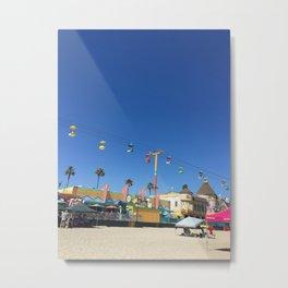 Santa Cruzin' pt3 Metal Print