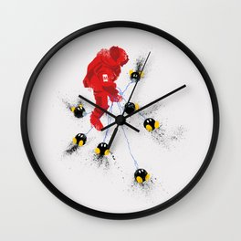 Mario's Hurt Locker Wall Clock