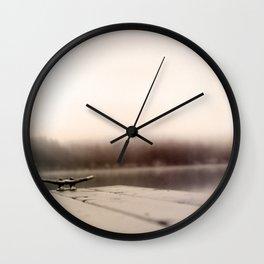 Mason Lake: Cleat Wall Clock