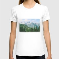 italian T-shirts featuring Italian alps by Carlo Toffolo