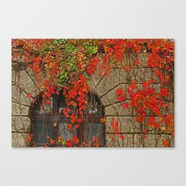 fairy-tale castle Canvas Print