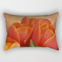 Tulip Sparkle Rectangular Pillow
