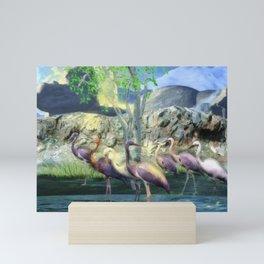 Lakeside View Mini Art Print