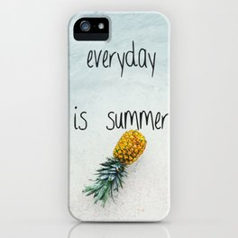 Everyday is summer iPhone Case