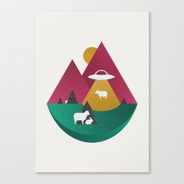 The UFO Canvas Print
