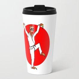 Sloth Karate Travel Mug