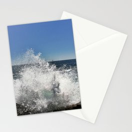 Waves Crashing on Pemaquid Point in Maine (2) Stationery Cards