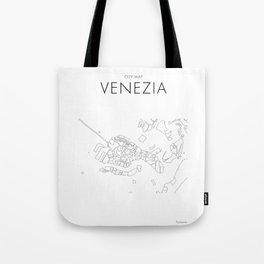 Venezia - City Map - Daniele Drigo Tote Bag