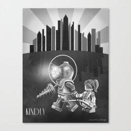 The Underwater Utopia Canvas Print