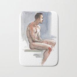 JORDAN, Nude Male by Frank-Joseph Bath Mat