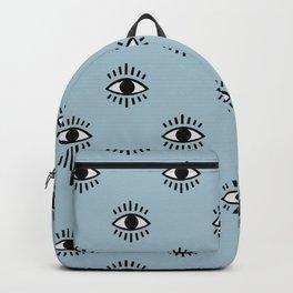 Eyes Pattern Backpack