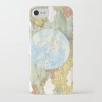 world maps iPhone & iPod Cases featuring Off The Maps by Grace M