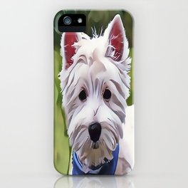 The West Highland Terrier iPhone Case