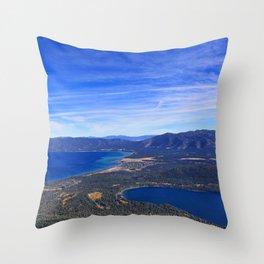 South Lake Tahoe Throw Pillow