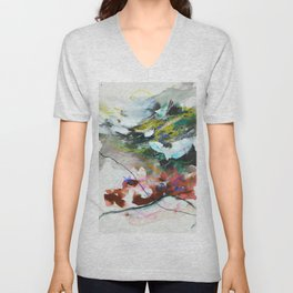 Day 84: In most cases reflecting on things in a cosmic context reveals triviality. Unisex V-Neck