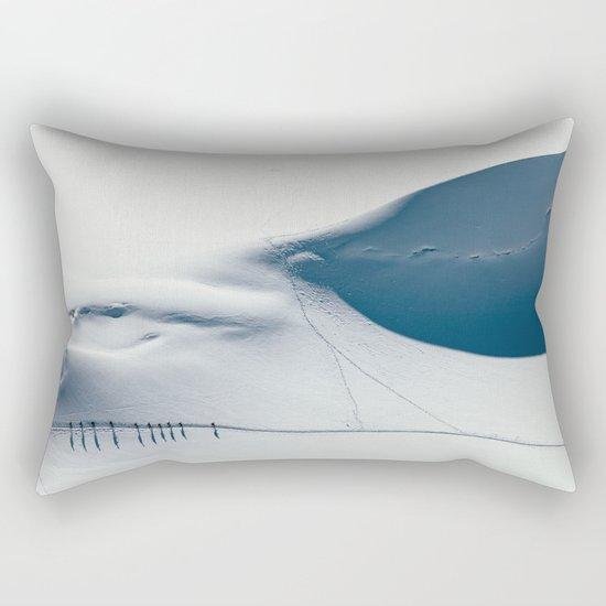 Mountain trace  Rectangular Pillow