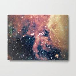 Cool milky way galaxy texture Metal Print
