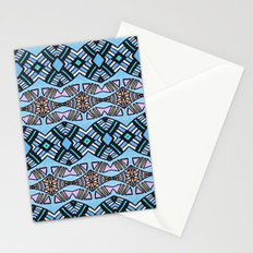 Creole Woman in Mint Stationery Cards