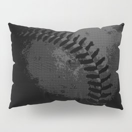 Baseball Illusion Pillow Sham