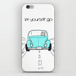 Let yourself go iPhone Skin