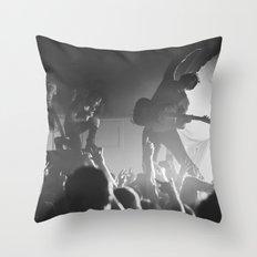 Dillinger Escape Plan Live  Throw Pillow