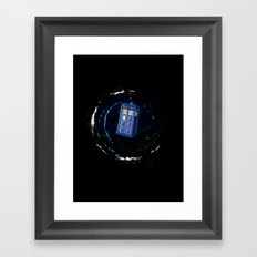 Space and Time and the Universe Framed Art Print