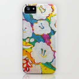 Leaves on the World Tree: Amhara Wanza iPhone Case