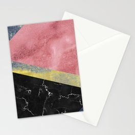 Raw Feelings - Abstract Textures Stationery Cards
