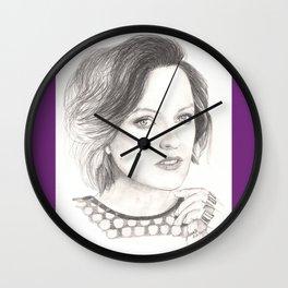 elisabeth moss...  peggy olson & more. Wall Clock