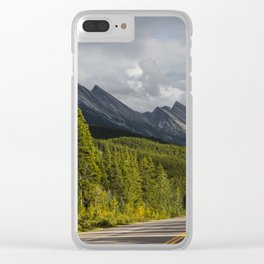 Icefields Parkway, Early September Clear iPhone Case