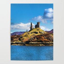 Castle Moil, Kyleakin. Poster