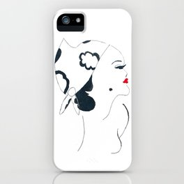 Mumsy Doodle iPhone Case