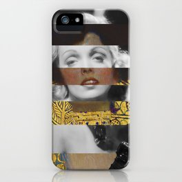Klimt's Judith and the Head of Holofernes & Marlene iPhone Case