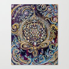 Gayatri - Creation Om Time Canvas Print