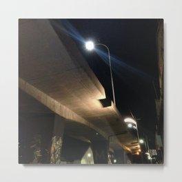 #180Photo #199 #Beautiful #Shadows on #Concrete Metal Print