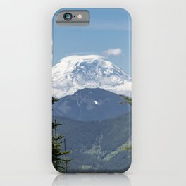 Mount Rainier Framed iPhone Case
