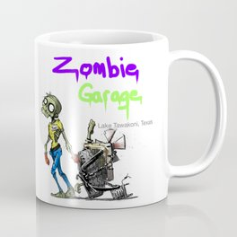 Zombie Garage: By Todd Zombie Coffee Mug