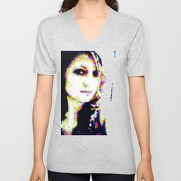 In a Woman's Eyes Unisex V-Neck