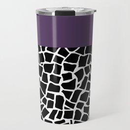 British Mosaic Purple Boarder Travel Mug