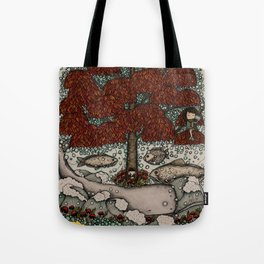 phones are for the uninspired (and the far away) Tote Bag