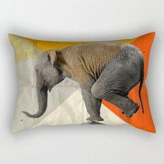 Balance of the pyramids Rectangular Pillow
