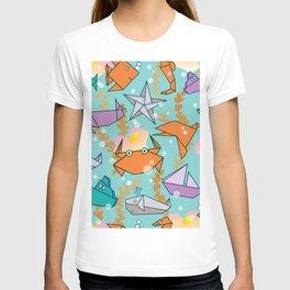 Origami Ocean T-shirt
