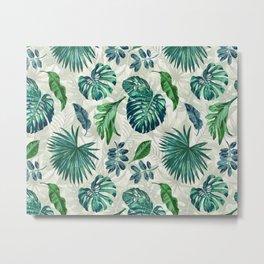 Lush Greens Metal Print