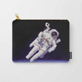 Astronaut on a Spacewalk Carry-All Pouch