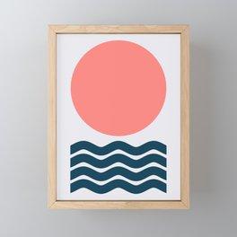 Geometric Form No.9 Framed Mini Art Print