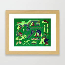 Beat Park Framed Art Print